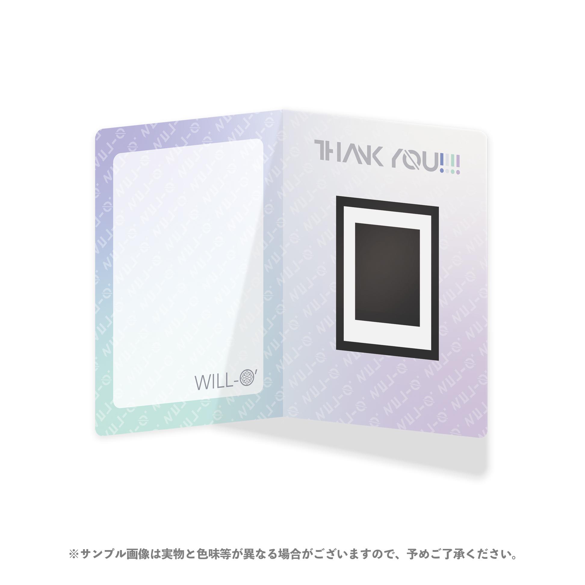 【榎本りょう】FC限定/特製カードボードつきソロチェキ(浴衣)